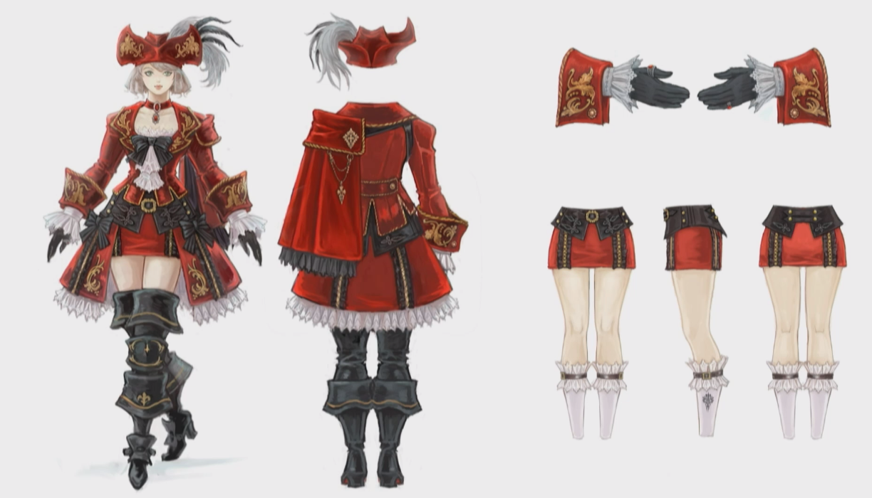 Stormblood Female Red Mage