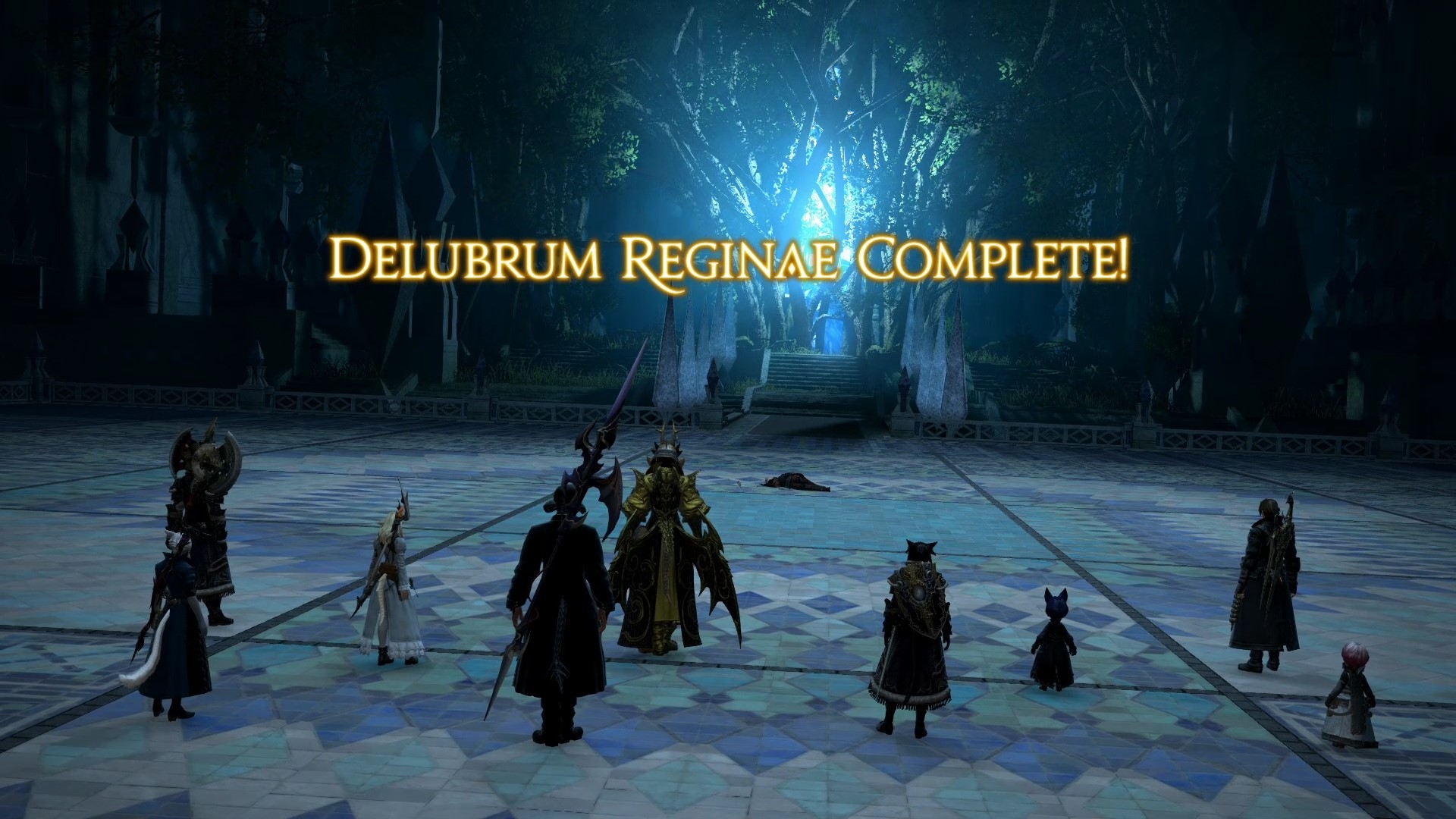 Delubrum Reginae complete. Congrats on the clear!