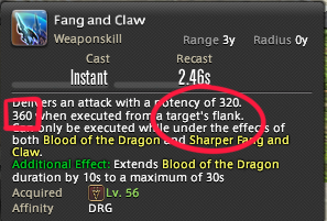 Fang And Claw Positional Tooltip