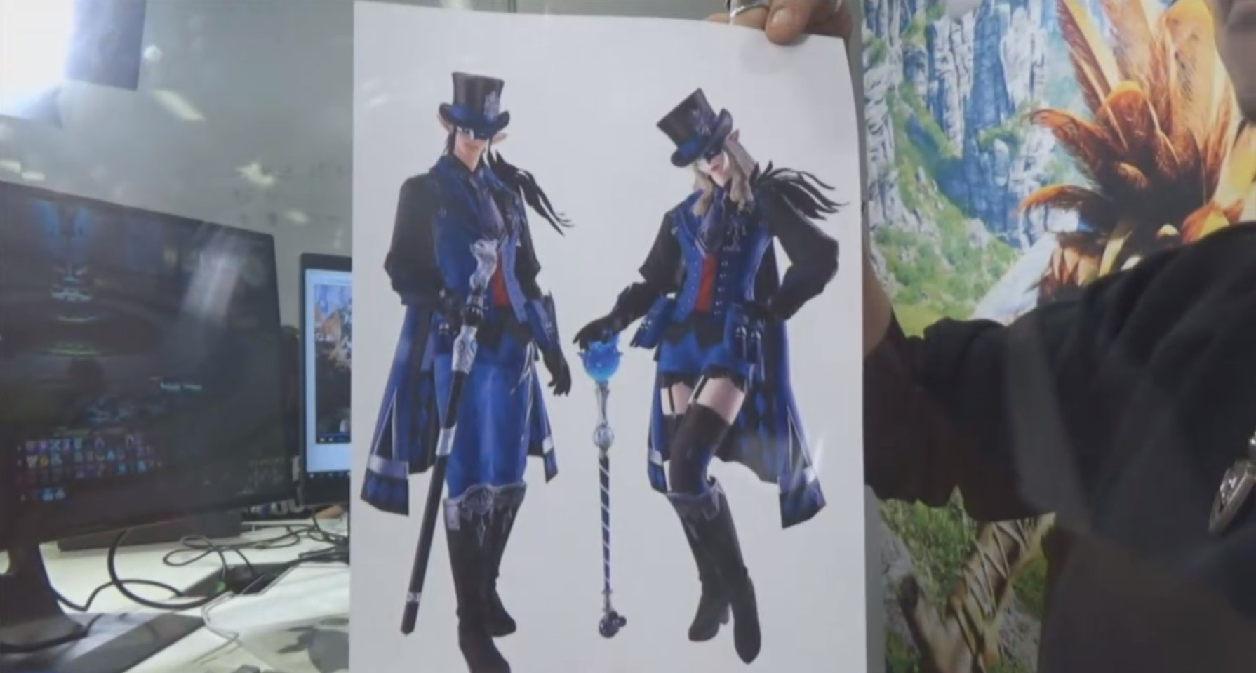 Exclusive Lv. 70 Blue Mage Gear